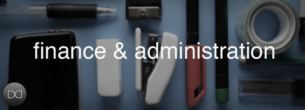 finance and admin