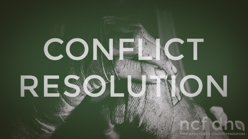 NCF DNA Standard Portfolio Feature CONFLICT RESOLUTION