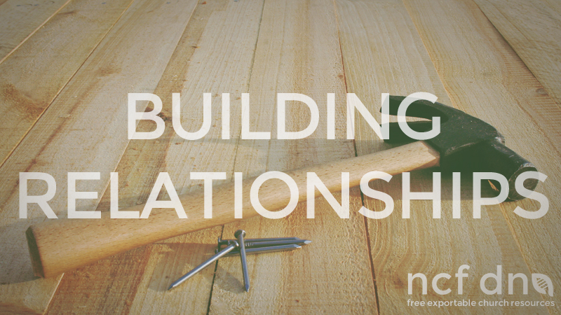 NCF DNA Standard Portfolio Feature BUILDING RELATIONSHIPS